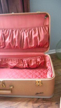 Vintage Starline 3 Piece Luggage Set