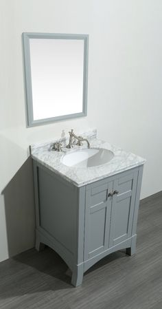 Pics Of Accanto inch White Bathroom Vanity Set with White Carrera Marble Top bathroom Pinterest White bathroom vanities White bathrooms and Marble top
