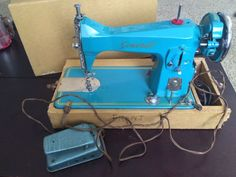 Vintage Precision General Built Royal Sewing Machine Made in Japan Brother Motor