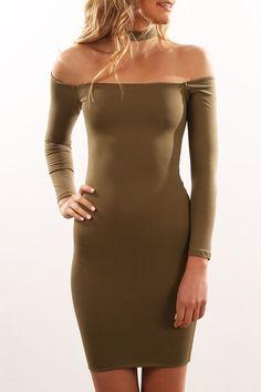 Larna Dress Green