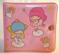 Little Twin Star plastic wallet...(1987). It was my favorite thing back then..=)
