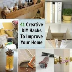 Diy hacks to improve your home