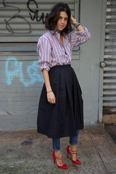 Leandra Medine style