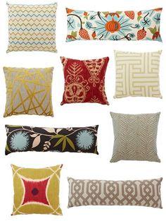 Pillows, pillows and more pillows