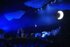 Liza Temnikova as Lyubov performs during the Opening Ceremony of the Sochi 2014 Winter Olympics at Fisht Olympic Stadium on February 7, 2014...