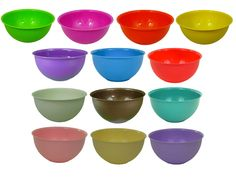For Mushrooms? Hobby Plastic Extra Large 3 Litre Colourful Mixing Salad Bowl Kitchen Baking