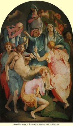 Pontormo. Deposition of Christ.