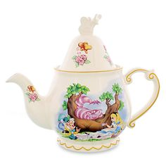 Alice in Wonderland Teapot--got this on my Food and Wine trip. Perfect for my teapot collection.