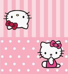 BulutsMom: Hello Kitty Temalı Doğum Günü Süsleri Hello Kitty Backgrounds, Hello Kitty Wallpaper, Anniversaire Hello Kitty, Hello Kitty Invitations, Eid Stickers, Hello Kitty Cupcakes, Hello Kitty Themes, Bff Drawings, Cute Stationary