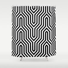 Stop neglecting bathroom decor - our designer Shower Curtains bring a fresh new feel to an overlooked space. Hookless and extra long, these bathroom curtains feature crisp and colorful prints on the front, with a white reverse side. Scandinavian Bathroom, Scandinavian Home, Bathroom Curtains, Shower Curtains, Shades Of White, Black And White, Uo Home, White Shower, Nordic Home