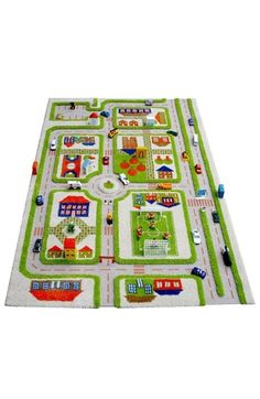 GREAT gift for a boy! Traffic play rug! So cute in their rooms and they can play with their cars on it! I adore this!