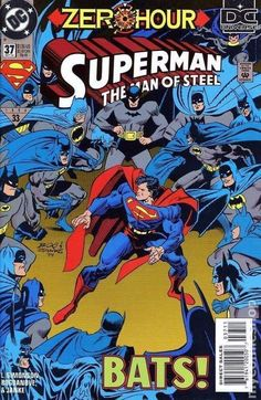 A cover gallery for the comic book Superman: Man of Steel Batman Vs Superman, Superman Comic Books, Superman Man Of Steel, Marvel Comic Books, Batman Comics, Comic Book Characters, Comic Character, Comic Books Art, Comic Art