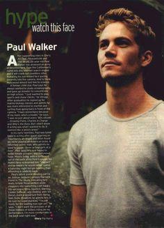 Paul Walker....Teen Movieline Magazine