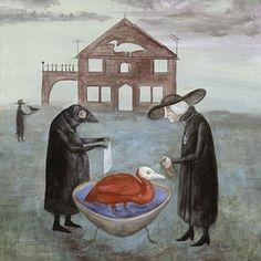 Leonora Carrington - Bird Bath