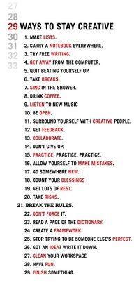 A simple & hardest list to do and follow