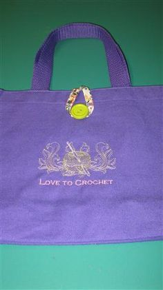 Lined Tote - Love to Crochet
