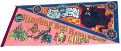 Vintage Ringling Bros. and Barnum & Bailey bicentennial souvenir program/magazine from 1975. Excellent condition, approximately 50 pages. Two vintage