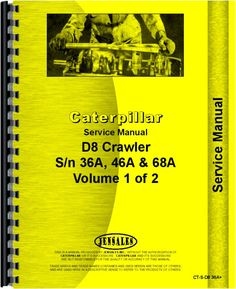 The best manuals online provided have cat service manual contains caterpillar d8 crawler service manual fandeluxe Image collections