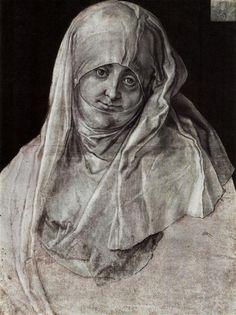 Portrait of Agnes Dürer as St. Anne, 1521 by Albrecht Dürer St Anne, Renaissance, Albrecht Durer, Academic Drawing, Hans Holbein, Landsknecht, Art Base, Art Database, Italian Artist