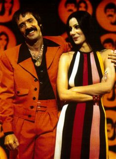 """""""The Sonny and Cher Comedy Hour"""" was a popular TV show that girls like Deenie would have watched on TV in the evening in 1973. Cher was an icon of fashion and beauty."""