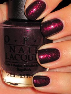 Rescue Beauty Lounge Tudor Collection: Catherine H nail polish is named one of the best winter nail polish colors for OPI's Burlesque Collection: Tease-y Does It Get Nails, Love Nails, How To Do Nails, Pretty Nails, Hair And Nails, Gorgeous Nails, Manicure Y Pedicure, Mani Pedi, Creative Nails