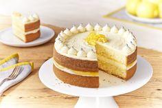 Zesty Lemon Celebration Cake - In The Playroom