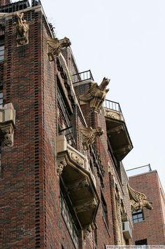 Gargoyles of New York.