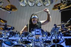 Mike Mangini of Dream Theater - 22-2-2016 Carré, Amsterdam - Photo by Tonnie Westerbeke - Metalfan.nl