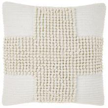 JULIAN cushion in white