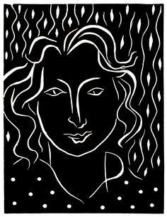 Henri Matisse Primavera (Spring), 1938. Linocut. Ed: 3/25 (1869-1954) Palm Springs Art Museum