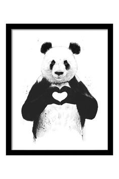 All You Need Is Love Framed Print By Balázs Solti, H50 x L40cm | BHS
