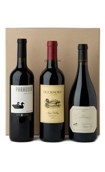 Bring the Portfolio Collection Three Bottle Gift Set to #Thanksgiving dinner as a #gift or to share! $160.00 from Duckhorn via Catalog Spree