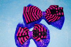 18 Inch Doll an Girl Halloween Scary Hair Bow Handmade Halloween Hair Bow American Girl Wellie Wisher Doll and Girl Bow by RachelsHairBowtique on Etsy