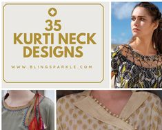 40 Amazing Kurti Neck Designs With Lace and borders Salwar Kameez Neck Designs, Silk Kurti Designs, Tunic Designs, Sleeve Designs, Neck Designs For Suits, Sleeves Designs For Dresses, Back Neck Designs, Blouse Neck Designs, Kurti Sleeves Design