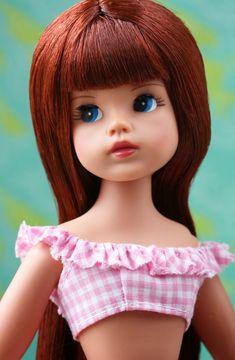 Sindy by Tonner Doll [ernestopadrocamps] qw Sindy Doll, Bjd Dolls, Tammy Doll, Pink Gingham, Hello Dolly, Cute Pink, Beautiful Dolls, Fashion Dolls, Hand Knitting