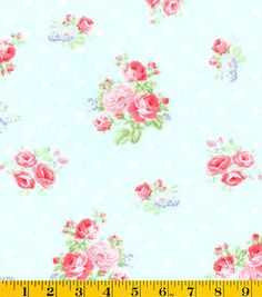 Keepsake Calico™ Cotton Fabric-Bed & Breakfast Floral