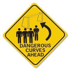 Dangerous Curves Sign