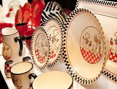 Dinnerware set for a chef! Create a theme in your kitchen. #AnnasLinens # & 16-Piece La Chef Dinnerware from Seventh Avenue ® | decorating ideas ...