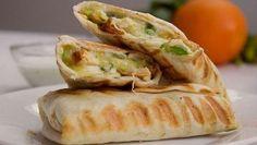 El burrito más viral de Pinterest, lleva pollo, queso y aguacate. La receta acumula más de dos mEillones de pins en Pinterest. Está rica y es fácil de hacer