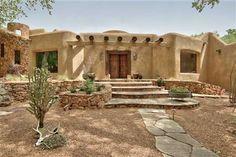 Pueblo Home at 500 Plaza La Luna Bernalillo New Mexico Home For Sale