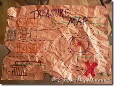 Treasure hunt for Pirate Unit
