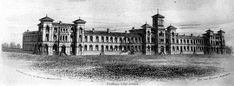Former Bolton Workhouse, the front remained until 2016 when it was sadly demolished, another part of Bolton history eradicated for 'progress' Salford, Small Towns, North West, Big Ben, Manchester, Louvre, England, History, Building