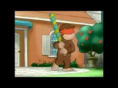 """Piñata Vision"" Curious George episode about the five senses."