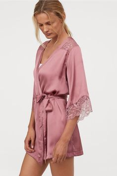 H&M Short Satin Dress from H&M