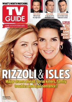 "Are Rizzoli and Isles Lesbians | Rizzoli And Isles"" Admits To Playing It Up For The Lesbian Fans"