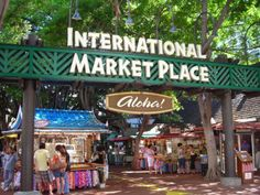 How to find inexpensive souvenirs from your trip to Hawaii. The International Market Place in Waikiki is the place to be.