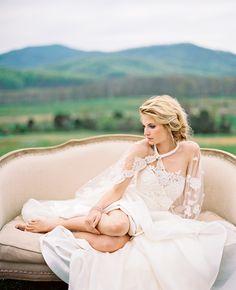 Pippin Hill Farms & Vineyards in Charlottesville, Virginia // Eric Kelley Photography // #EisemanBridal #weddingdress