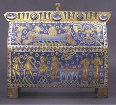 The Becket Casket, about 1180-1190, Limoges, France, V Museum no. M.66-1997