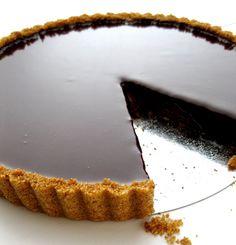 Dark Chocolate Tart: http://dough-puncher.blogspot.ca/2011/07/dark-chocolate-tart.html