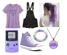 """tag"" by ironically-a-strider21 ❤ liked on Polyvore featuring Nintendo, Abercrombie & Fitch and Converse"
